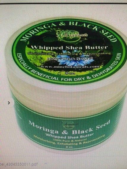 Moringa & Black Seed Whipped Shea Butter