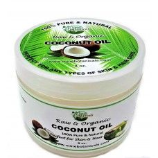 Raw & Organic Coconut Oil Hair Pomade > Mine Botanicals Brand