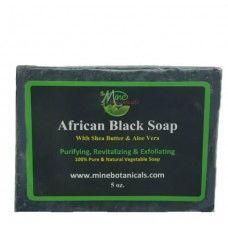 African Black Soap - Mine Botanicals