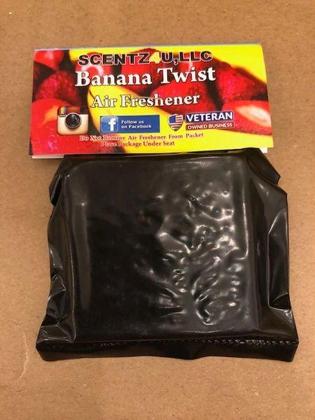 Scentz4U Air Freshener - Banana Twist