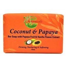 Coconut and Papaya Bar Soap - Mine Botanicals