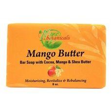 Mango Butter Soap with Almond & Shea Butter - Mine Botanicals