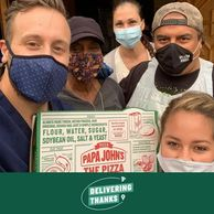 Papa John's Pizza, Brennan Belliveau, The Adventurous Nurse, Nurse Blog