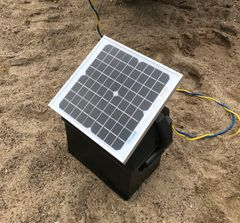 Solar Charging Battery Case for Winch
