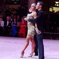 Arkady Bakenov and Rosa Filippello British Professional Rising Star Champions at Blackpool 2016