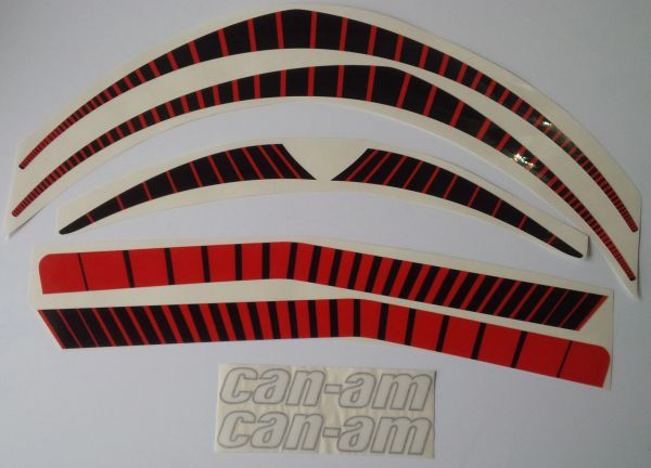 Can-am 1977 MX-3 Reproduction Decal kit