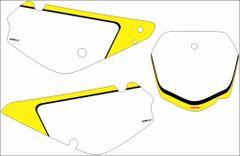 Suzuki RM85 2002-2019 PG2 Numberplate Decals