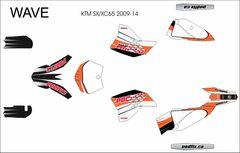 KTM 2009-2015 SX65 WAVE Grafix