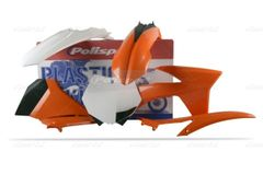 Polisport 2011-2012 KTM SX/SXF Full Size Bikes Complete Plastic Kit