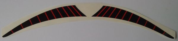 Can-am 1977 MX-3 Reproduction Rear Fender Decals
