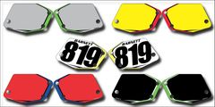 Rox PowerMadd PG2 Side Numberplate Decals