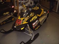 MXZ TNT 500SS sled wrap CLEARANCE!!