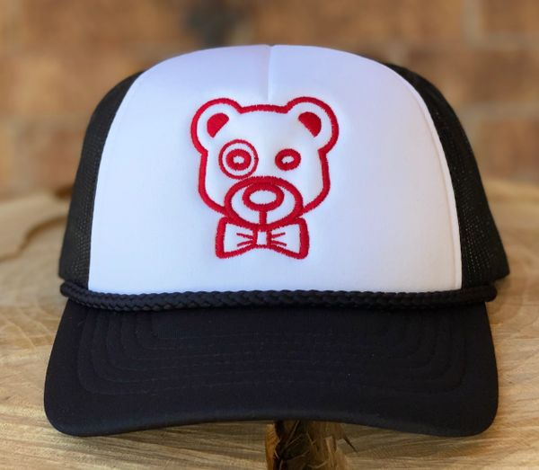 Knotted the Bear Foam Cap