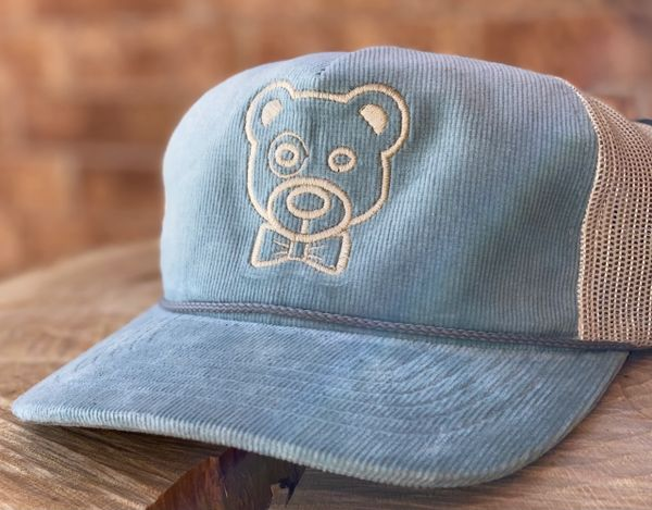 Knotted the Bear Corduroy Cap