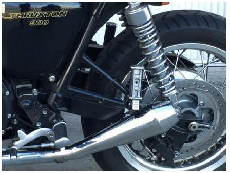 '04-'15 Shorty Mufflers Triumph Thruxton & Bonneville