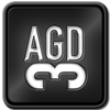 Button Logo for AGD3, the final installment in the AGD Trilogy by David Hooper (Anatomy of a Great..