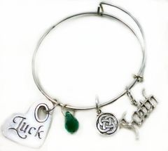 Luck of the Irish Expandable Bangle