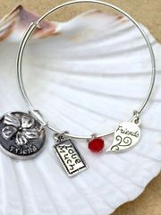 Best/Friends Joined at the Heart Expandable Bangle Set