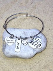 Special Daughter Expandable Bangle
