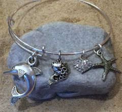 Fish and Friends Expandable Bangle