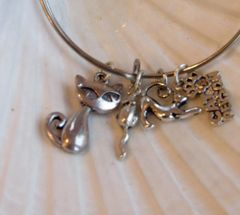Cat and Mouse Expandable Bangle