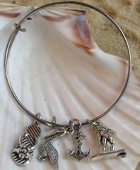 Toes In The Sand Expandable Bangle