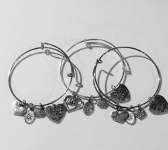 Mom/Big Sister/Little Sister Expandable Bangle Trio