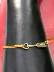 Antique Arrow String Bracelet
