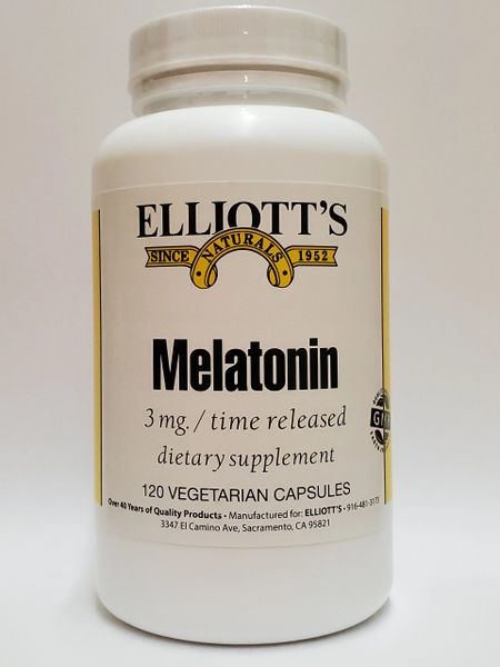 Melatonin Time Released 3mg 120vc