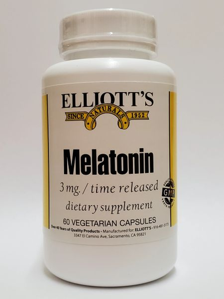 Melatonin Time Released 3mg 60vc