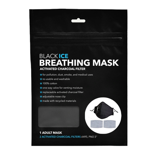 Black Ice Breathing Mask