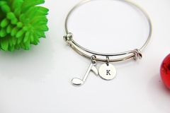 Silver Baseball Charm Bracelet, B136