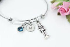 Silver Nutcracker Charm Bracelet, Personalized Bracelet
