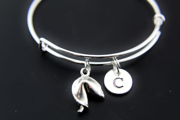 Fortune Cookies Charm Bracelet Fortune Cookies Bangle