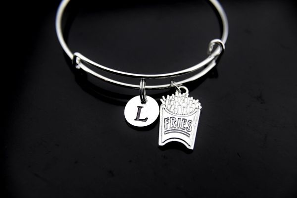 French Fry Bracelet French Fries Charm French Fries Jewelry
