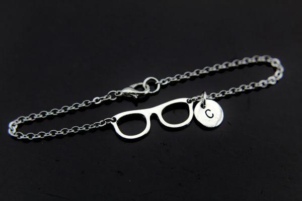 Optometrist Bracelet Eyeglasses Charm Optometrist Jewelry
