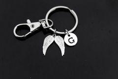 Angel Wing Keychain Personalized keychain