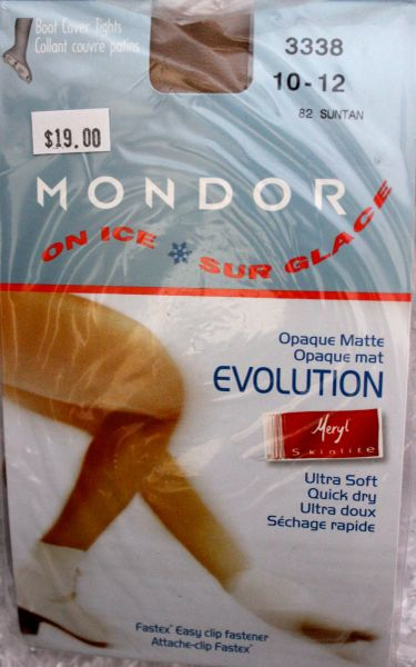 MONDOR Suntan 3338 Boot Cover Evolution Opaque Ultra Matte