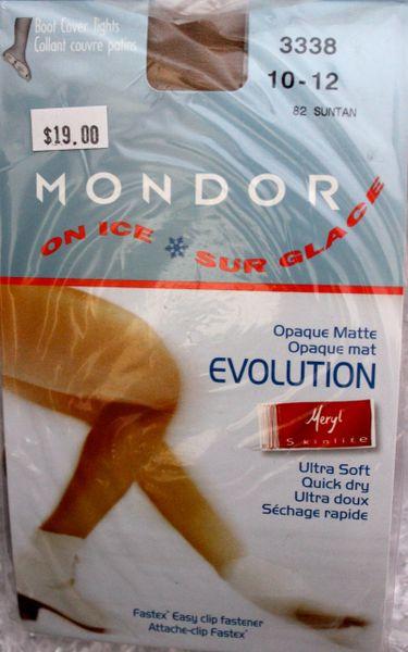 MONDOR Suntan 3338 Boot Cover Evolution Opaque Ultra Matte