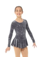 Figure Skating Dress 2767 Glitter Velvet by Mondor
