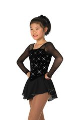 Jerry's Rhinestone Figure Skating Dress