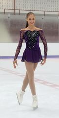 Jerry's Cloud of Crystals Figure Skating Dress