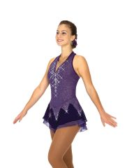 Jerry's Icicles and Amethysts Figure Skating Dress