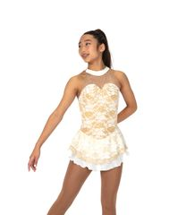 Jerry's Goldiluxe Figure Skating Dress