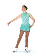 Jerry's Mint Julep Figure Skating Dress