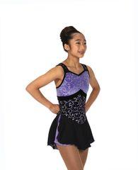 Jerry's Iris Inspiration Figure Skating Dress