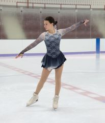 Jerry's Storm Cloud Figure Skating Dress