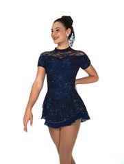 Jerry's Indigo Isle Figure Skating Dress