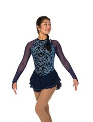 Jerry's Navy Nobility Figure Skating Dress