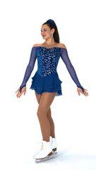 Jerry's Sapphirical Figure Skating Dress